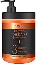 Парфюмерия и Козметика Маска за коса - Prosalon Protein Therapy + Keratin Complex Rebuild Mask