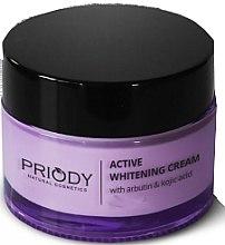 Парфюми, Парфюмерия, козметика Изсветляващ крем за лице - Priody Active Whitening Cream