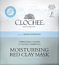 Парфюми, Парфюмерия, козметика Овлажняваща маска с червена глина - Clochee Moisturising Red Clay Mask