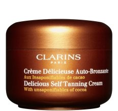 Парфюми, Парфюмерия, козметика Крем автобронзант за лице и тяло - Clarins Delicious Self Tanning Cream