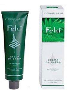 "Крем для бритья ""Папоротник"" - L'erbolario Crema da Barba Felci (мини) — снимка N1"