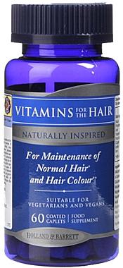 Витаминно-минерален комплекс за коса - Holland & Barrett Vitamins For The Hair
