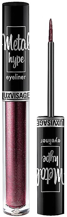 Цветна очна линия - Luxvisage Metal Hype Eyeliner