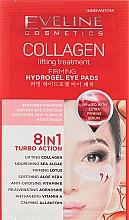 Парфюмерия и Козметика Укрепващи пачове за очи - Eveline Cosmetics Collagen Hydrogel Lifting Eye Pads 8in1