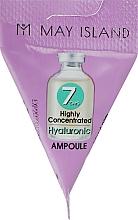 Парфюмерия и Козметика Серум за лице с хиалуронова киселина - May Island 7 Days Highly Concentrated Hyaluronic Ampoule