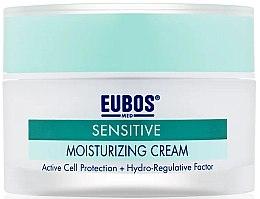 Парфюмерия и Козметика Крем за лице - Eubos Med Sensitive Moisturizing Cream