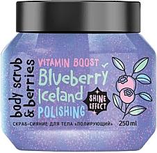 Парфюмерия и Козметика Ексфолиращ скраб за тяло с боровинка - MonoLove Bio Blueberry Iceland Polishing