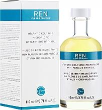 Парфюмерия и Козметика Масло за вана - Ren Atlantic Kelp and Magnesium Anti-Fatigue Bath Oil