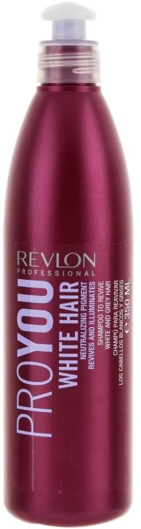 Шампоан за бяла коса - Revlon Professional Pro You White Hair Shampoo — снимка N1