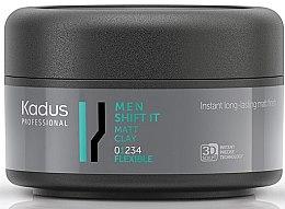 Парфюмерия и Козметика Стилизираща матова глина за коса с лека фиксация - Kadus Professional Men Shift It Matt Clay