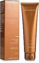 Слънцезащитно мляко за тяло SPF 30+ - Academie Bronzecran Body Sunscreen Milk High Protection — снимка N1