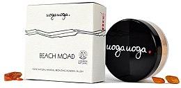 Парфюмерия и Козметика Натурален минерален бронзант за лице - Uoga Uoga Beach Moad Bronzing Powder-blush