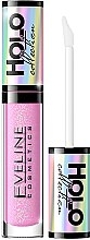 Парфюми, Парфюмерия, козметика Гланц за устни - Eveline Cosmetics Holo Collection