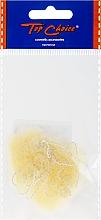 Парфюмерия и Козметика Мрежичка за коса, 3097, светло-бежова - Top Choice