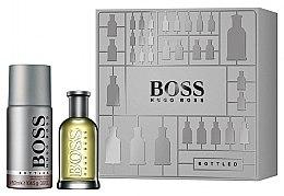 Парфюмерия и Козметика Hugo Boss Boss Bottled - Комплект (тоал. вода/50ml + део/150ml)