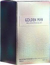 Парфюмерия и Козметика Vittorio Bellucci Golden Man - Тоалетна вода