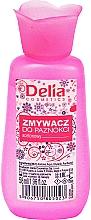 Парфюмерия и Козметика Лакочистител - Delia No1 Nail Polish Remover