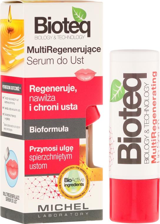 Възстановяващ серум за устни - Bioteq Multi Regenerating Lip Serum