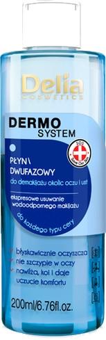Двуфазен продукт за почистване на грим за лице и очи - Delia Dermo System The Two-phase Liquid Makeup Remover