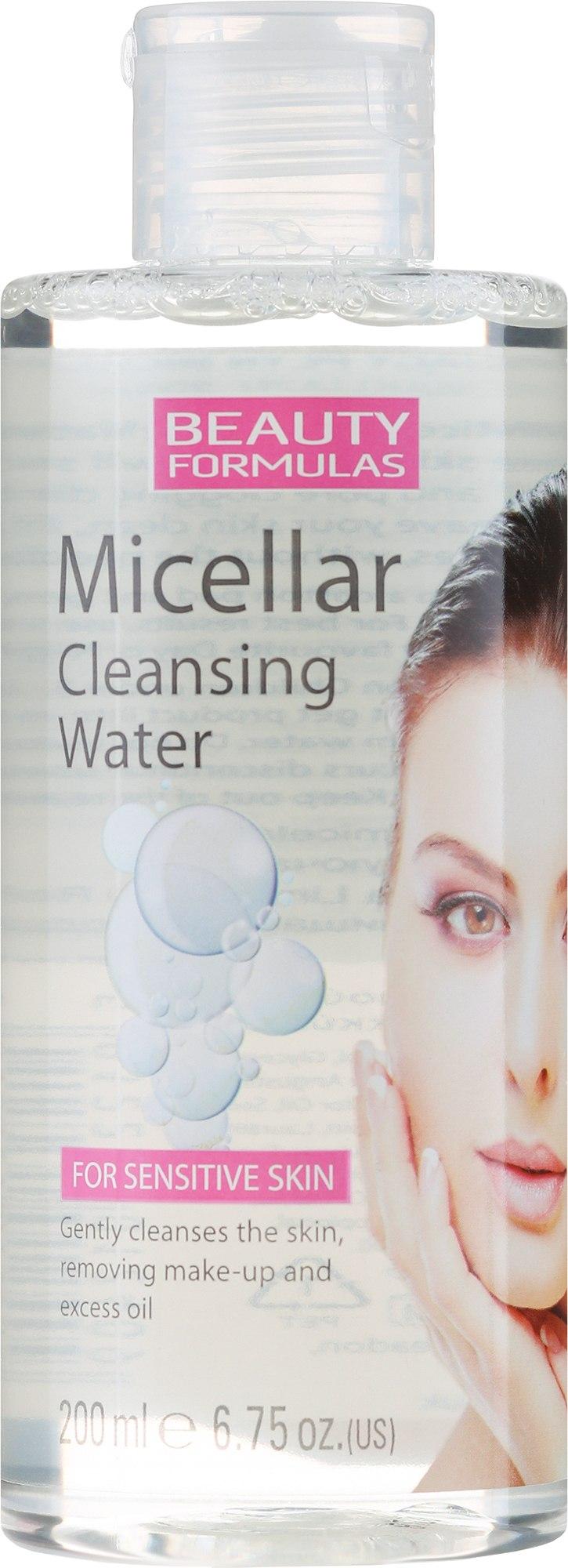 Мицеларна вода за лице - Beauty Formulas Micellar Cleansing Water — снимка 200 ml
