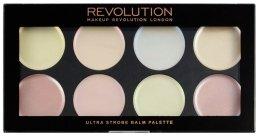 Парфюми, Парфюмерия, козметика Озаряваща кремообразна палитра - Makeup Revolution Ultra Strobe Balm Palette