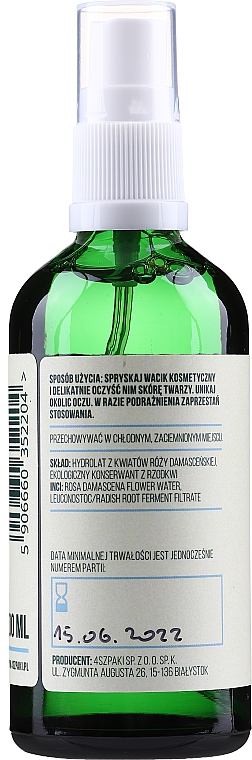 Хидролат от роза Дамасцена - Cztery Szpaki — снимка N2