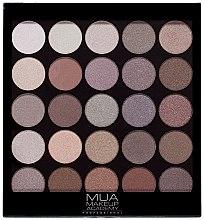 Парфюмерия и Козметика Палитра сенки за очи - MUA 25 Shade Palette