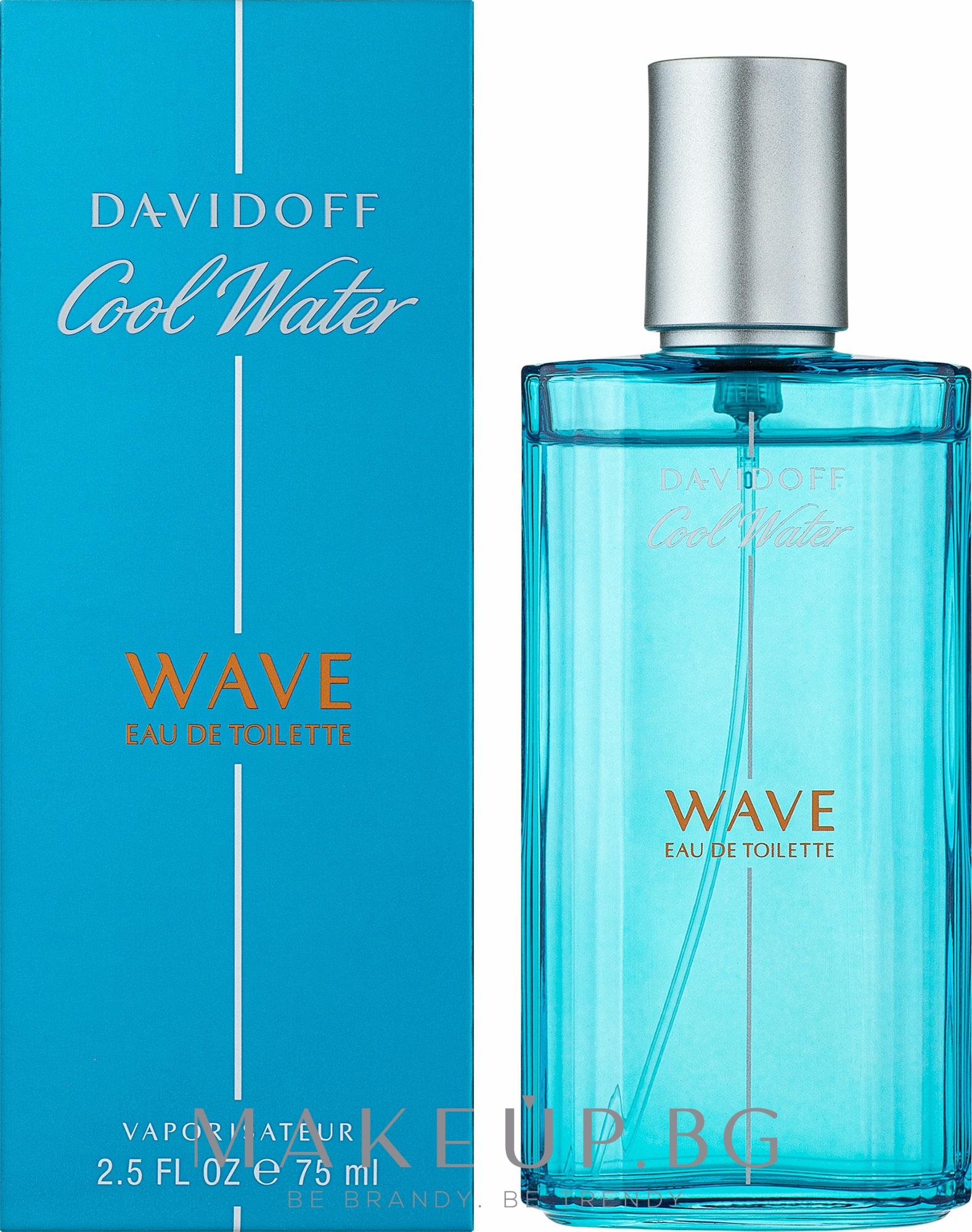 Davidoff Cool Water Wave - Тоалетна вода — снимка 75 ml