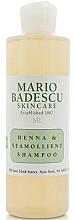 Парфюмерия и Козметика Шампоан за всеки тип коса - Mario Badescu Henna & Seamollient Shampoo