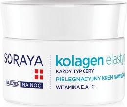 Парфюми, Парфюмерия, козметика Овлажняващ крем ден/нощ - Soraya Kolagen i Elastyna Moisturizing Cream