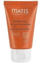 Парфюми, Парфюмерия, козметика Слънцезащитен крем за лице - Matis Reponse Soleil Sun Protection Cream For Face SPF 50