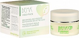 Парфюмерия и Козметика Крем за лице - Bema Cosmetici Love Bio Traitement Peaux Mixtes Et Grasses