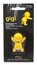Парфюмерия и Козметика Ароматизатор за автомобил - Mr&Mrs Gigi Car Freshener Yellow Vanilla