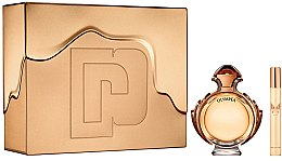 Парфюми, Парфюмерия, козметика Paco Rabanne Olympea Intense - Комплект (edp/80ml + edp/mini/10ml)