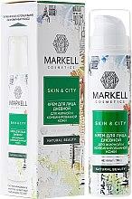 Парфюмерия и Козметика Дневен крем за лице за мазна и комбинирана кожа - Markell Cosmetics Skin&City Face Cream