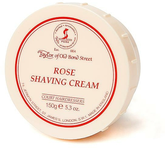 Крем за бръснене с роза - Taylor of Old Bond Street Rose Shaving Cream Bowl
