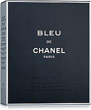 Chanel Bleu de Chanel - Тоалетна вода (3 пълнителя и атомайзер) — снимка N2