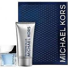 Парфюми, Парфюмерия, козметика Michael Kors Extreme Blue - Комплект (тоал. вода/70 ml + душ гел/150/ml)