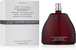 Spirit Antonio Banderas - Тоалетна вода (тестер без капачка)  — снимка N2