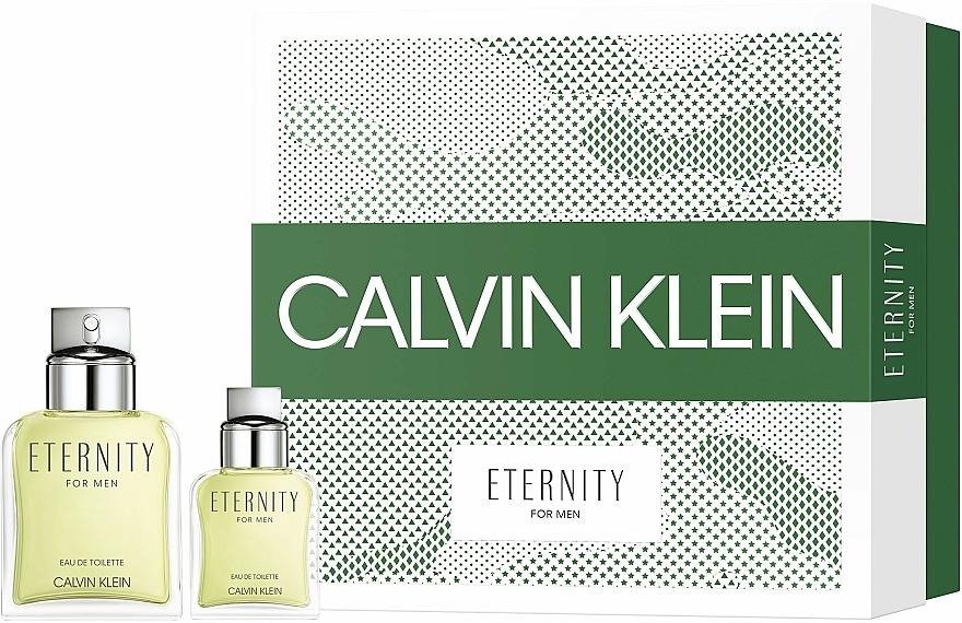 Calvin Klein Eternity For Men - Комплект тоалетна вода (edt/100ml + edt/30ml) — снимка N1