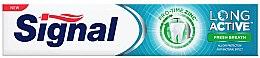 Парфюми, Парфюмерия, козметика Паста за зъби за свеж дъх - Signal Long Active Fresh Breath Toothpaste