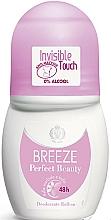 Парфюмерия и Козметика Breeze Perfect Beauty Deo Roll-On 50 48h - Рол-он дезодорант