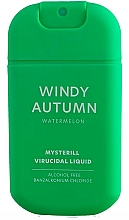 Парфюмерия и Козметика Дезинфекциращ спрей за ръце с диня - HiSkin Antibac Hand Spray Windy Autumn