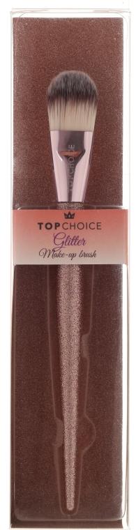 Четка за фон дьо тен 37412 - Top Choice Glitter Make-up Brush