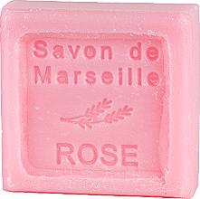 """Парфюмерия и Козметика Марсилски сапун """"Роза"""" - Le Chatelard 1802 Soap Savon De Marseille Rose"""