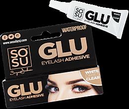 Парфюми, Парфюмерия, козметика Лепило за изкуствени мигли - Sosu by SJ Glue Eyelash Adhesive Clear