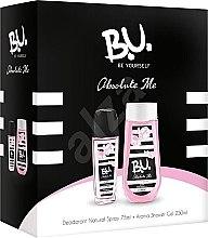 Парфюмерия и Козметика B.U. Absolute Me - Комплект (deo/75ml + sh/gel/250 ml)