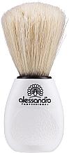 Парфюмерия и Козметика Четка за почистване на прах след пилене на нокти - Alessandro International Dusting Tool