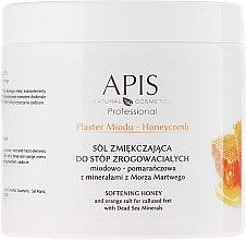 Парфюми, Парфюмерия, козметика Успокояващи соли за крака - APIS Professional Softening Honey And Orange Salt