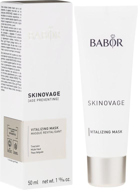 Успокояваща маска за уморена кожа - Babor Skinovage Vitalizing Mask — снимка N1